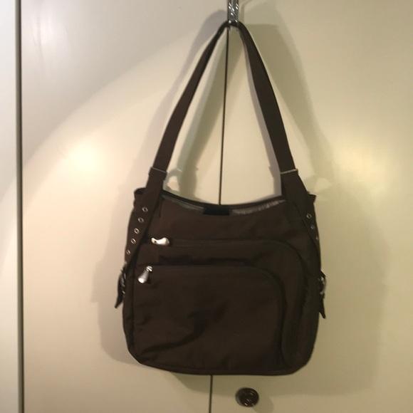 AMERIBAG Messenger Bag Brown